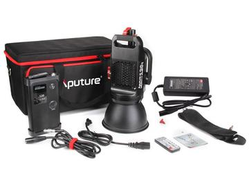Rent: Aputure COB 120d Daylight LED 6000k V-Mount w/ Fresnel Lens