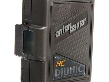 Rent: Anton Bauer Gold Mount 2 Dionic HC 90V batteries