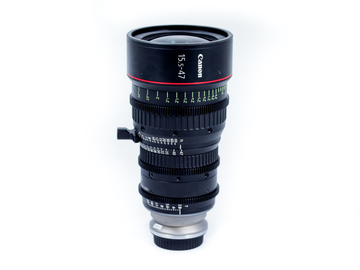 Rent: Canon 15.5-47mm CN-E Lens
