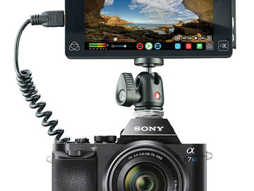 Rent: NEW SONY A7sII WITH ATOMOS SHOGUN FLAME!