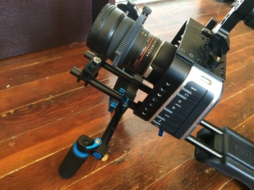 Rent: Blackmagic 4k, w/ follow focus, cards, batteries, shoulder..