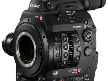 Rent: Canon C-300 Mark ii