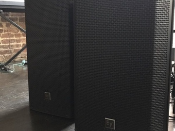 Rent: EV ZLX-12P (New) PA Speakers