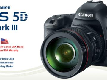 Rent: Canon EOS 5D Mark III w/ 24-105mm Zoom Lens