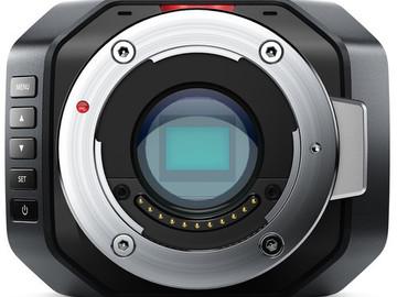 Rent: BlackMagic Micro Studio Camera 4K