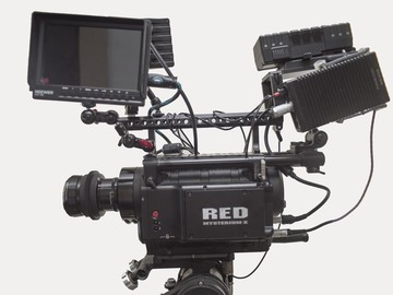 Rent: RED ONE MX  4.5K  'Ready to Shoot' Cinema kit w/ tripod