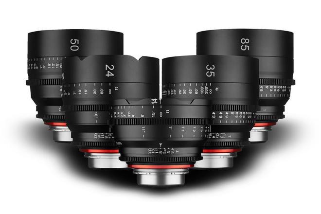 Xeen Cine Lenses