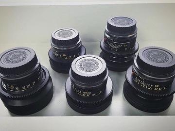 Rent: Leica R - 6 Lens Set