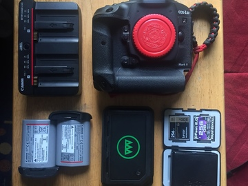 Rent: Canon EOS-1D X Mark II  + Gnarbox & (2) 256GB Memory Cards
