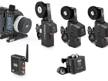 Rent: Arri WCU-4 Wireless Lens Control Kit focus iris zoom motor