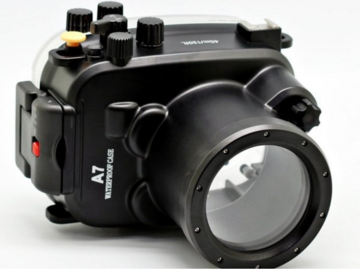 Rent: Underwater casing and lens for A7s mark i