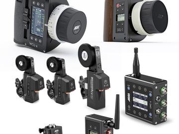 Rent: ARRI WCU-4 Deluxe Kit Wireless Lens Control UMC-4 SXU-1