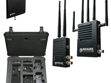 Rent: Paralinx Tomahawk 2 Deluxe Kit 3 Receivers Wireless Video