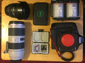Rent: Canon EOS-1D X Mark II + PLUS 2 CANON L lenses + GNARBOX