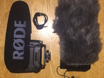 Rent: Rode VideoMic Pro PLUS (NEW 2017 MODEL) & WINDBUSTER