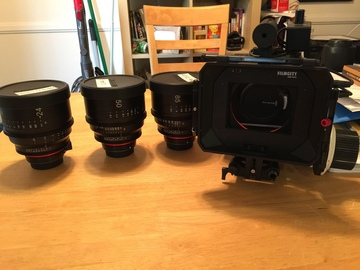 Rent: Black Magic 4k Package w/ Xeen (24,50,85)Cinema Primes