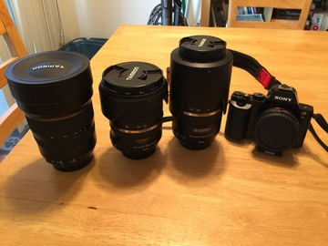 Rent: A7S package with Tamaron lenses
