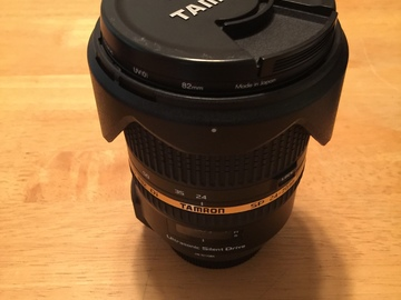 Rent: Tamron 24-70 f2.8mm Canon EF mount