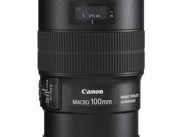 Rent: Canon L Series 100mm Lens
