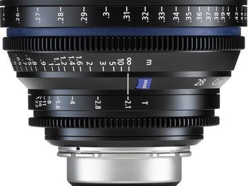 Rent: Zeiss CP.2 Series 28mm Lens
