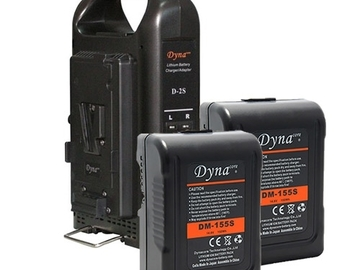 3 Dynacore  155s Batteries with Dual Battery charger