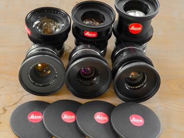 Rent: Leica R Lens Set (CineMod) 19,28,35,50,90,135