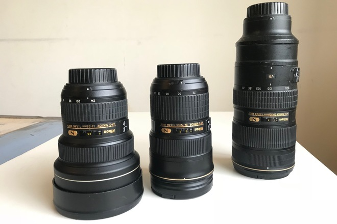 Nikon Nikkor (f 2.8) Full Lens Package