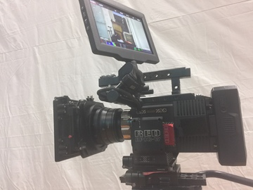Rent: RED Scarlet-W Dragon 5K + wireless monitor+Easyrig