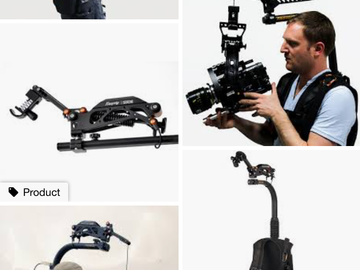 Rent: EasyRig Vario 5 with Serene Extension Arm Installed
