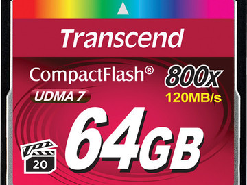 Rent: 64GB CF Card - 800X 120MB/s UDMA7