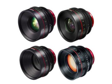 Rent: CANON CN-E Lens Set of 4 (24mm,35mm,50mm,85mm)