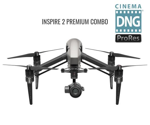 DJI Inspire 2 Quadcopter X5S w/Licensed Pilot