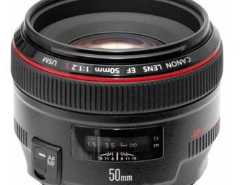 Rent: Canon L series 50mm f/1.2