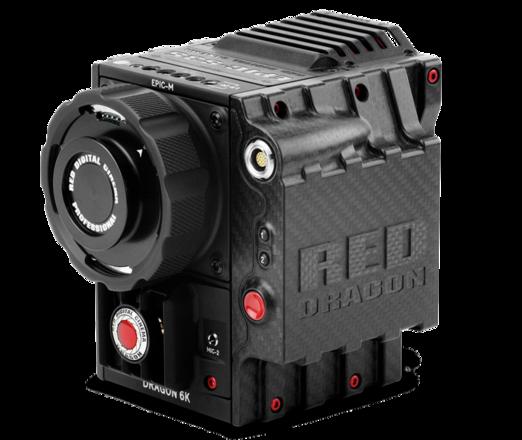 RED Epic Dragon 6K Carbon Fiber