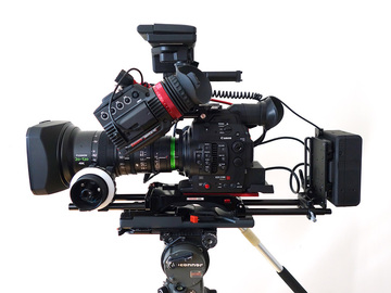 Rent: NEW! Canon C300 MarkII - Arri + Zacuto Accessories
