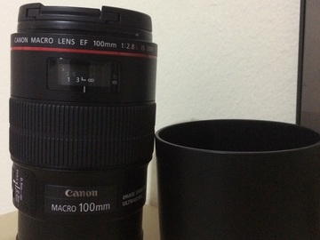 Rent: Canon EF 100mm f/2.8 L IS Macro USM