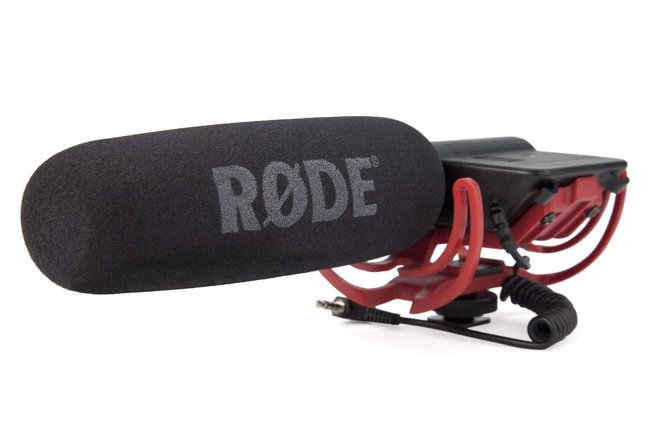 Rode Videomic Shotgun Microphone with Rycote Lyre Mount (Mod