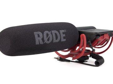 Rode Videomic Shotgun Microphone with Rycote Lyre Mount (Mod