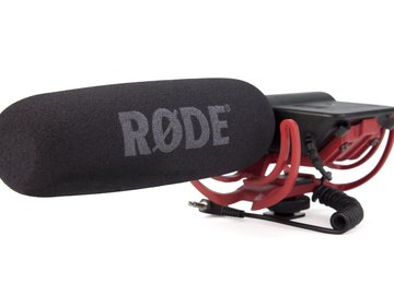 Rent: Rode Videomic Shotgun Microphone with Rycote Lyre Mount (Mod
