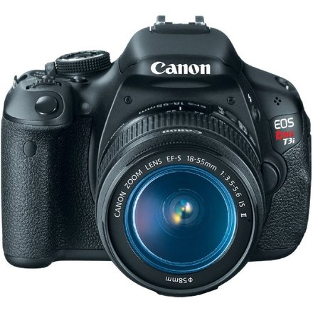 Canon EOS Rebel T3i Digital SLR Camera with EF-S 18-55mm f/3