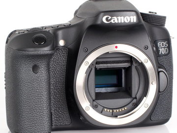 Rent: Canon EOS 70D Base Kit!