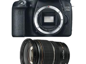 Rent: Canon EOS 70D DELUXE KIT!