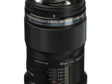 Rent: Olympus M.Zuiko Digital ED 60mm f/2.8 MFT Macro Lens