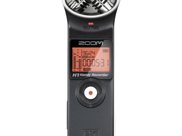 Rent: Zoom H1 Ultra-Portable Digital Audio Recorder
