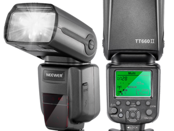 Rent:  NEEWER TT660 Speedlite Flash Light For Canon