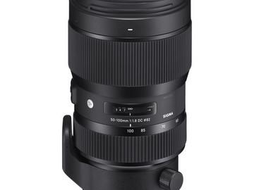Rent: Sigma ART lens 50mm-100mm