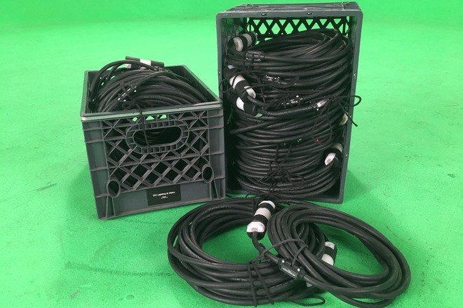 Crate of Stingers: Extension Cords 4- 25' and 4- 50'