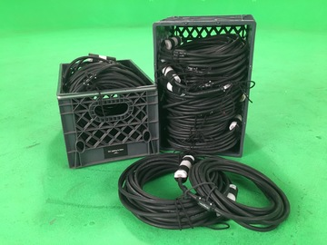 Rent: Crate of Stingers: Extension Cords 4- 25' and 4- 50'