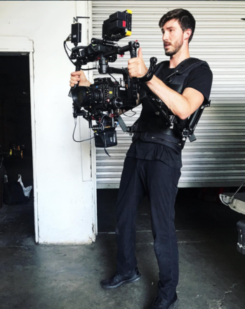 DJI Ronin with Cinemilled Arms + Armor Man 2.0 + Operator