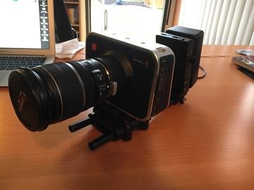 Rent: Blackmagic Cinema Camera 2.5K Package